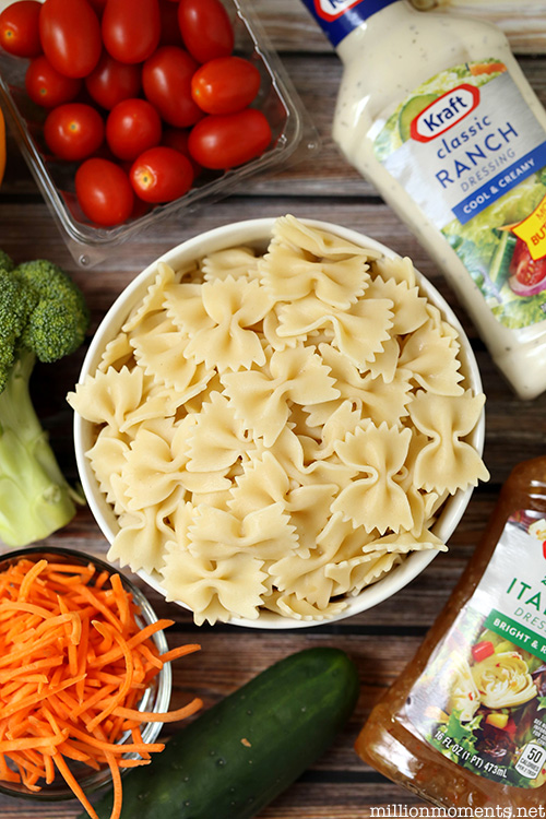 Summer pasta salad recipe #shop