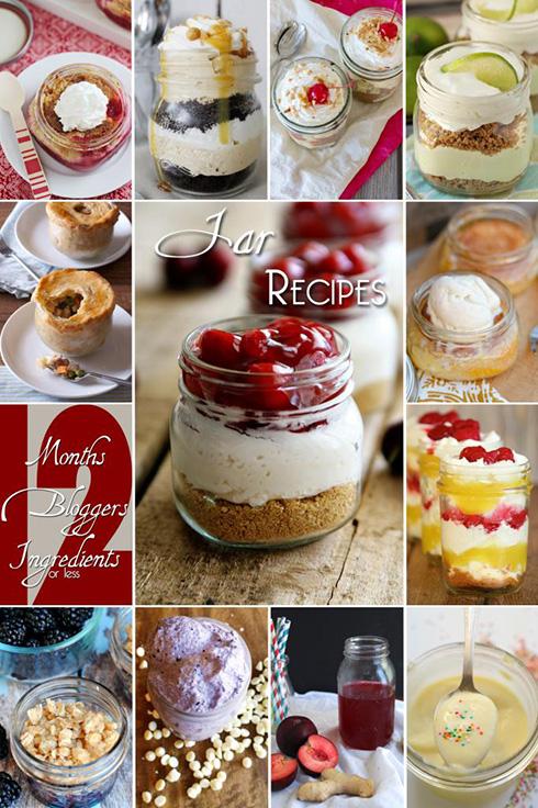 12 bloggers recipes in a jar