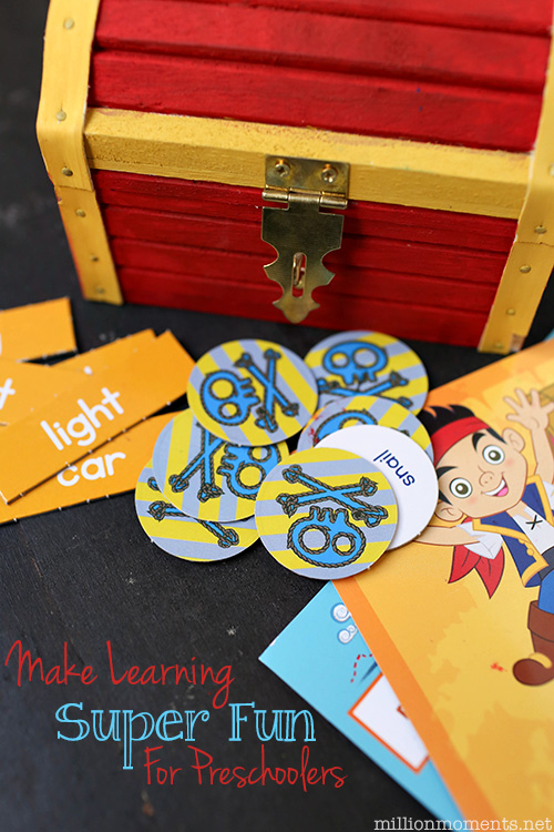 Make Learning Fun For Preschoolers {& A Cute Craft}