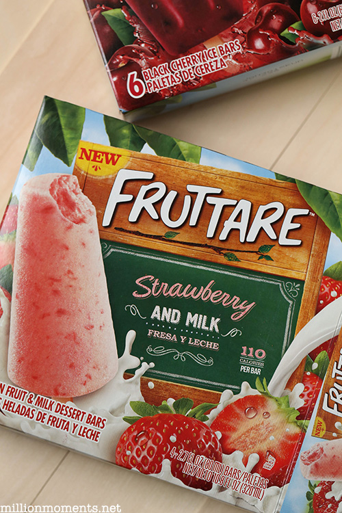 Fruttare bars made with real fruit are a great choice for snacking.