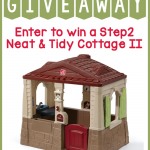 Win a Step2 Neat & Tidy Cottage II!