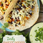 Zesty Sweet Potato Tacos