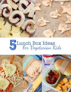 Easy veggie lunch box ideas for kids