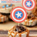 Caramel M&M® Cheesecake Bites {Recipe}