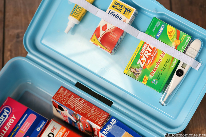 DIY get well kit stocked with essentials