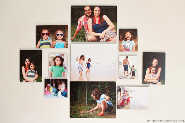 Easy gallery wall art from Shutterfly