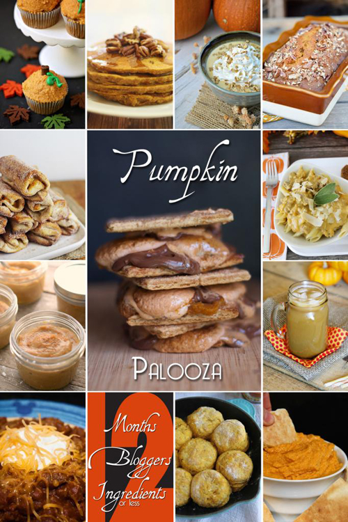 12 perfect pumpkin recipes from the #12Bloggers