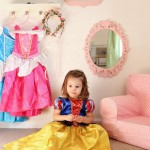 Creating A Fun Dress Up Corner {Princess Makeover Edition}