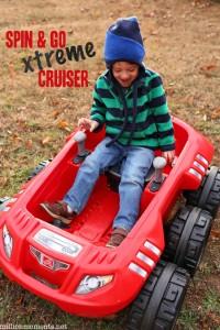 Step2 Spin & Go xtreme cruiser