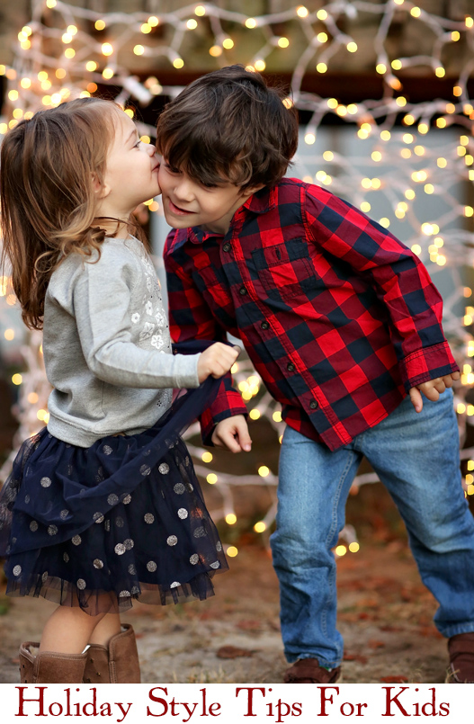 Holiday style tips for kids