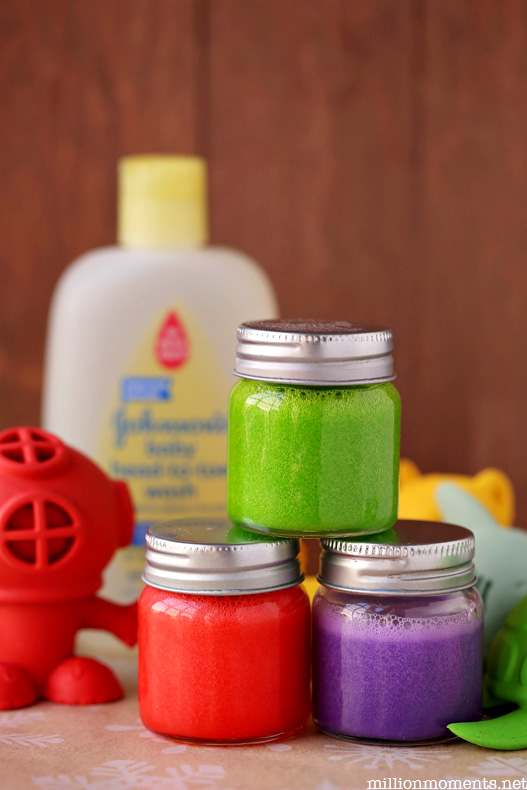 Easy and safe bath paint recipe
