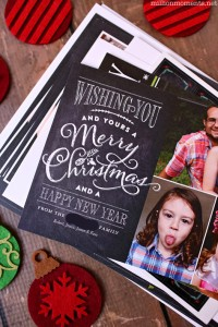 Shutterfly holiday cards are a great way to send love this season!