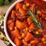 Have A Healthy Holiday With Thirty Minute Sweet Potato Chili