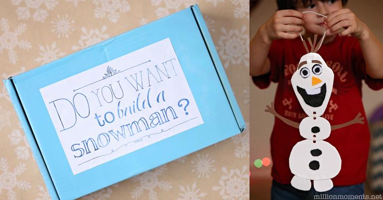 Build An Olaf Kit A Million Moments