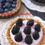 Blackberry Tartlet With Whole Grain Oat Crust
