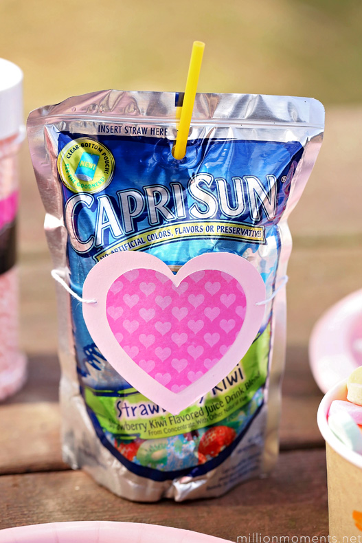 Sweetheart party with Capri Sun