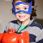 No Sew Big Hero 6 Masks {Superhero Mask Tutorial}
