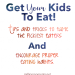 Get Your Kids To Eat! {Plus easy mac n cheese bowls}