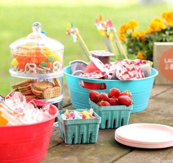 Simple Spring Garden Party