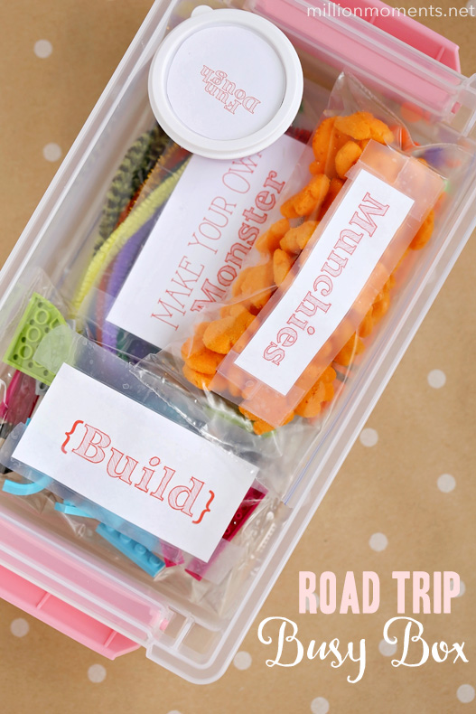 Road Trip Busy Box For Kids