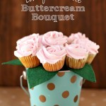 Lovely Lemonade Buttercream Bouquet {Recipe & Craft}