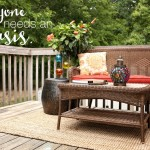 My Global Back Deck Makeover