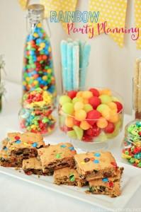 Rainbow party planning