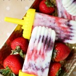 Fresh Berry Tie Dye Popsicles {& Easy Summertime Fun!}