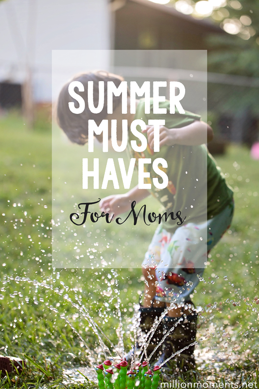 active mama must haves for Summer fun!