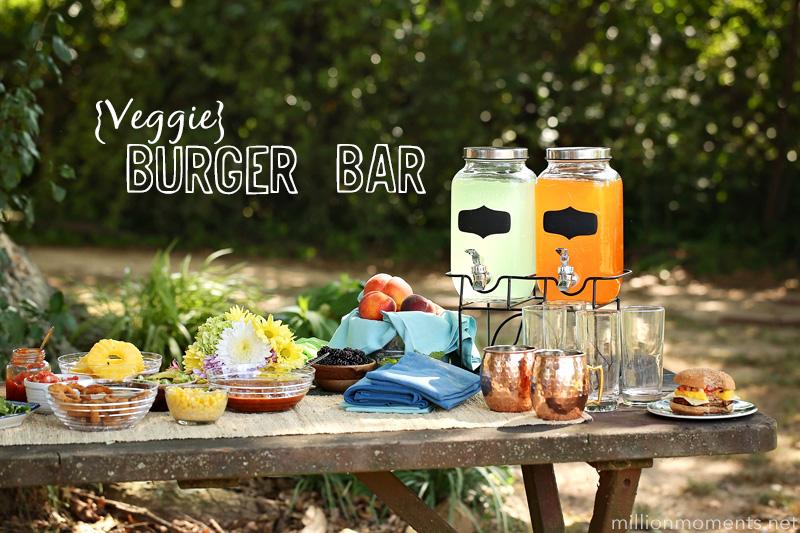 The Ultimate Veggie Burger Bar