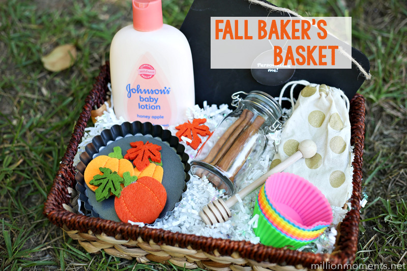 I adore gift baskets and baking so for me this is perfect. Not only is it filled with little goodies to help make the yearu0027s best treats it also has a few ... & Fall Bakeru0027s Basket | A Million Moments