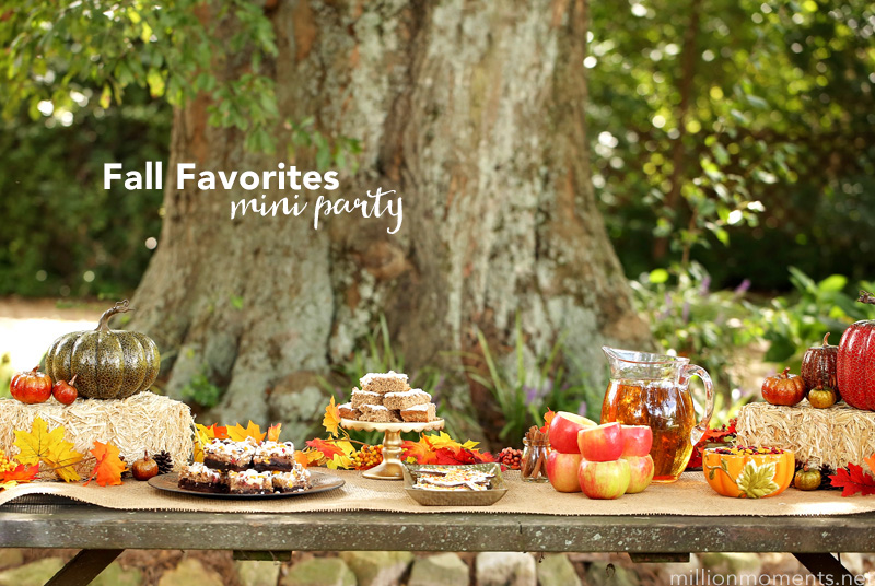 Fall Favorites Mini Party