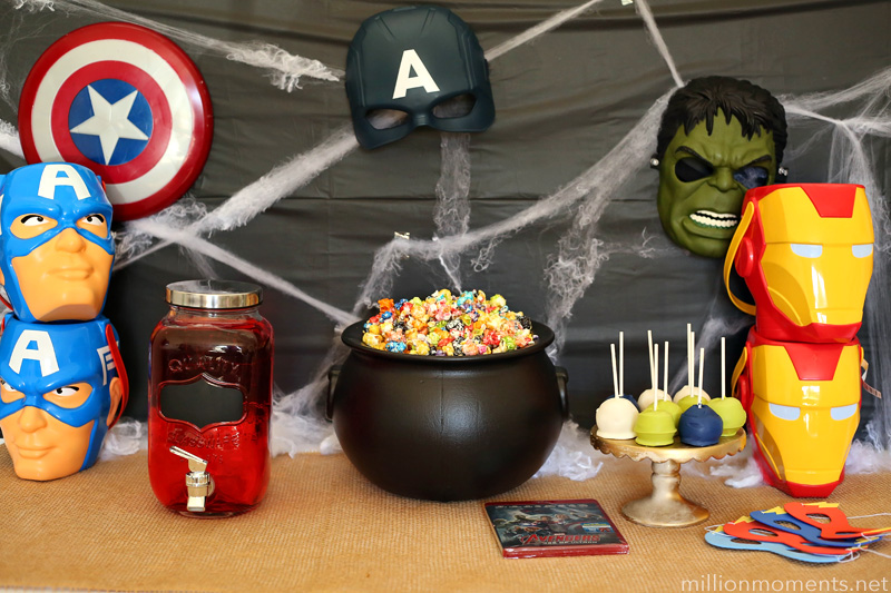 Easy Marvel Halloween party ideas.