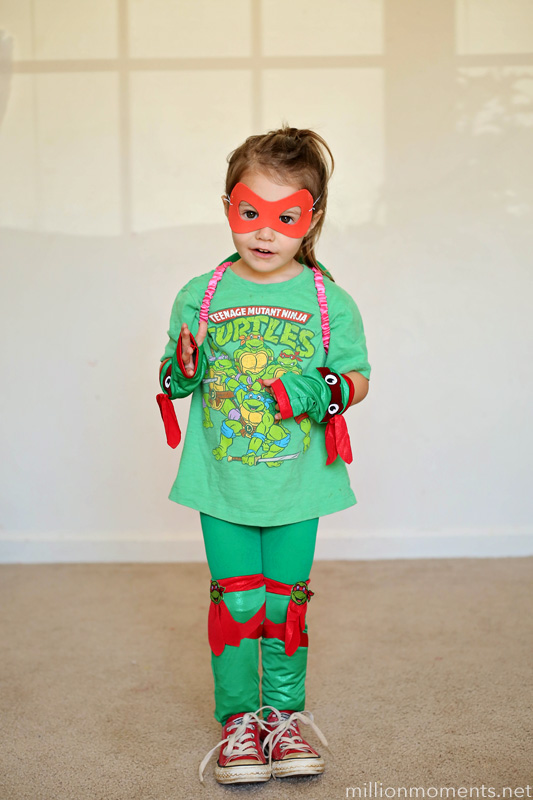 TMNT costume from Party City