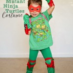 DIY TMNT Costume For Girls