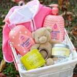 Baby Bath Time Basket