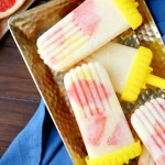 Sweet Grapefruit and Pineapple Popsicle Recipe