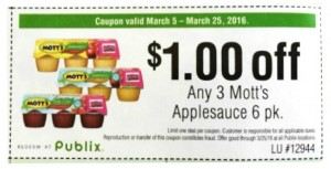 Motts Coupon for Blog Posts