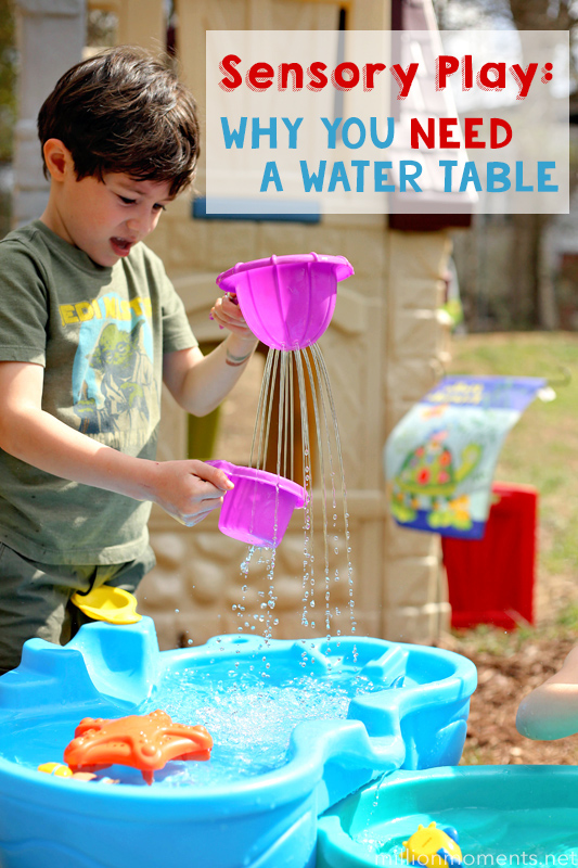 Sensory Play: Water Tables