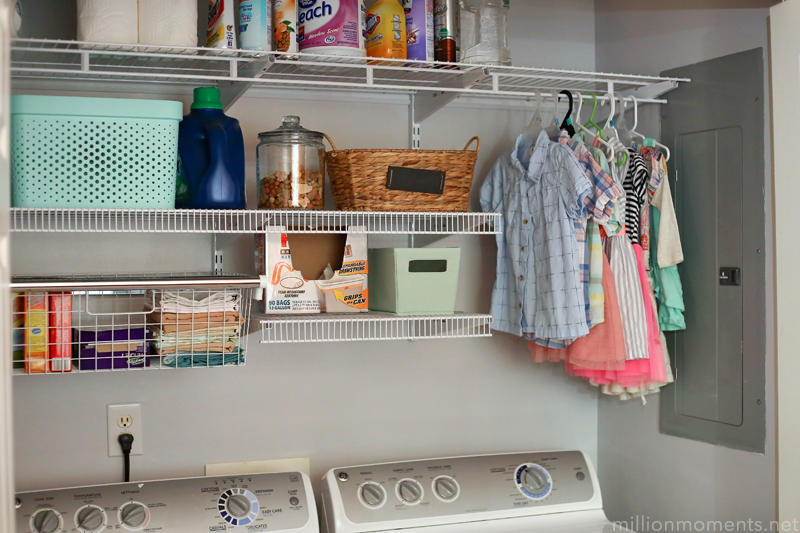 I Am In Love With My Laundry Space Now And Can Store SO Much More There After The Remodel If You Are Planning On A Closet Room Mudroom
