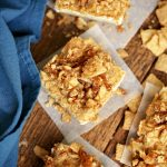 Apple Cinnamon Cereal Cheesecake Bars