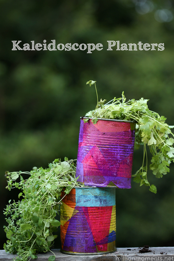 Upcycled Herb Planters