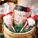 Easy Hot Cocoa Bar + Gift Basket for Two!