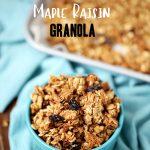 Maple Raisin Granola Recipe