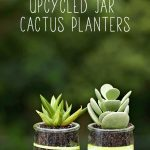 Upcycled Mini Cactus Planters