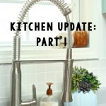 Kitchen Update: New Hands Free Faucet!