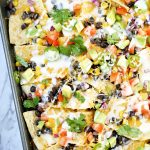 Easy Sheet Pan Nachos