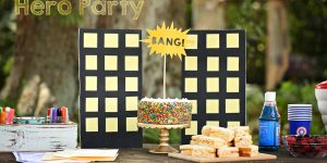 Birthday on a Budget: Marvel Madness Hero Party