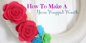 How To Make A Yarn Wreath