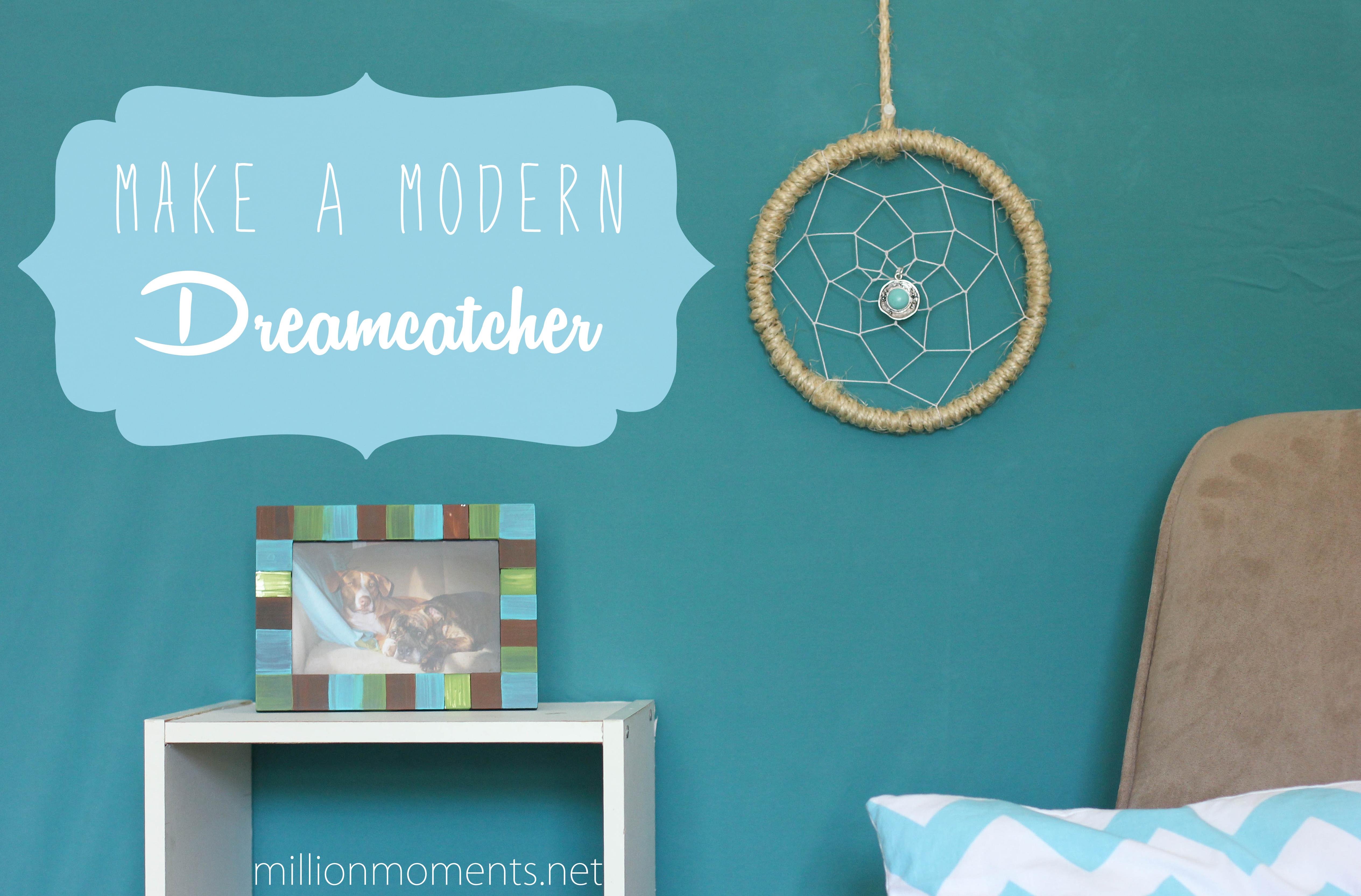 Make A Modern Dreamcatcher